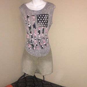 PERFECT 4th July outfit (Shorts) Sz 12